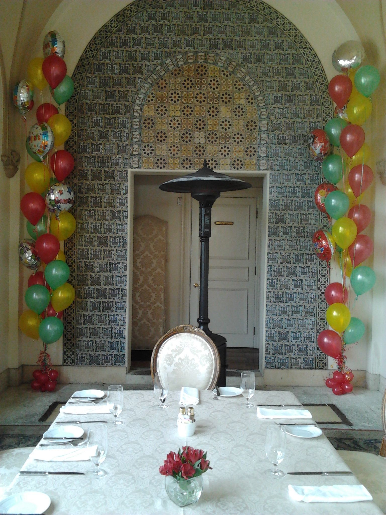 Helium Balloon Decorations In