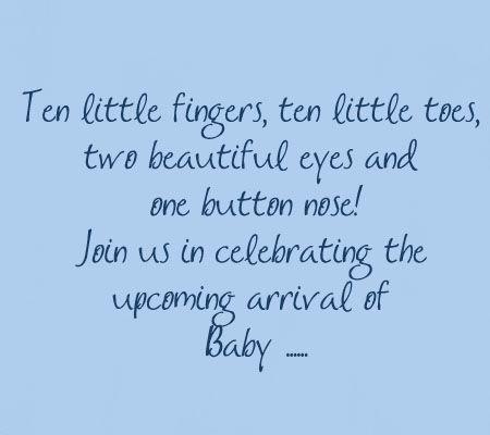 Ten Little Fingers Baby Shower Quotes Baby Shower Invitation Wording Baby Shower Invitation Wording Girl