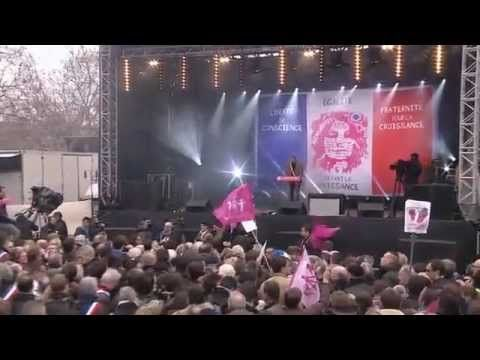 France: Gay Conservative Speaks Out Against Marriage Equality at Rally