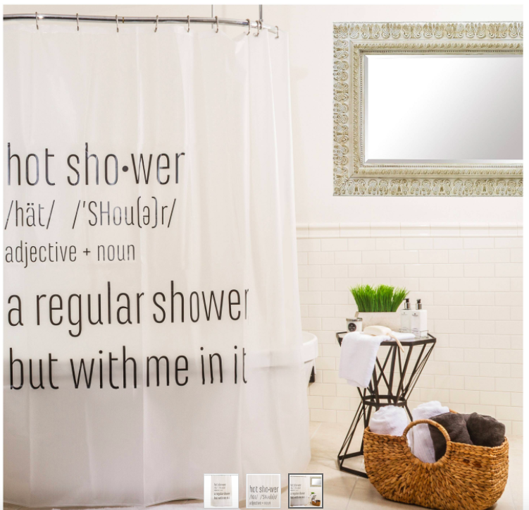 target shower curtains on point