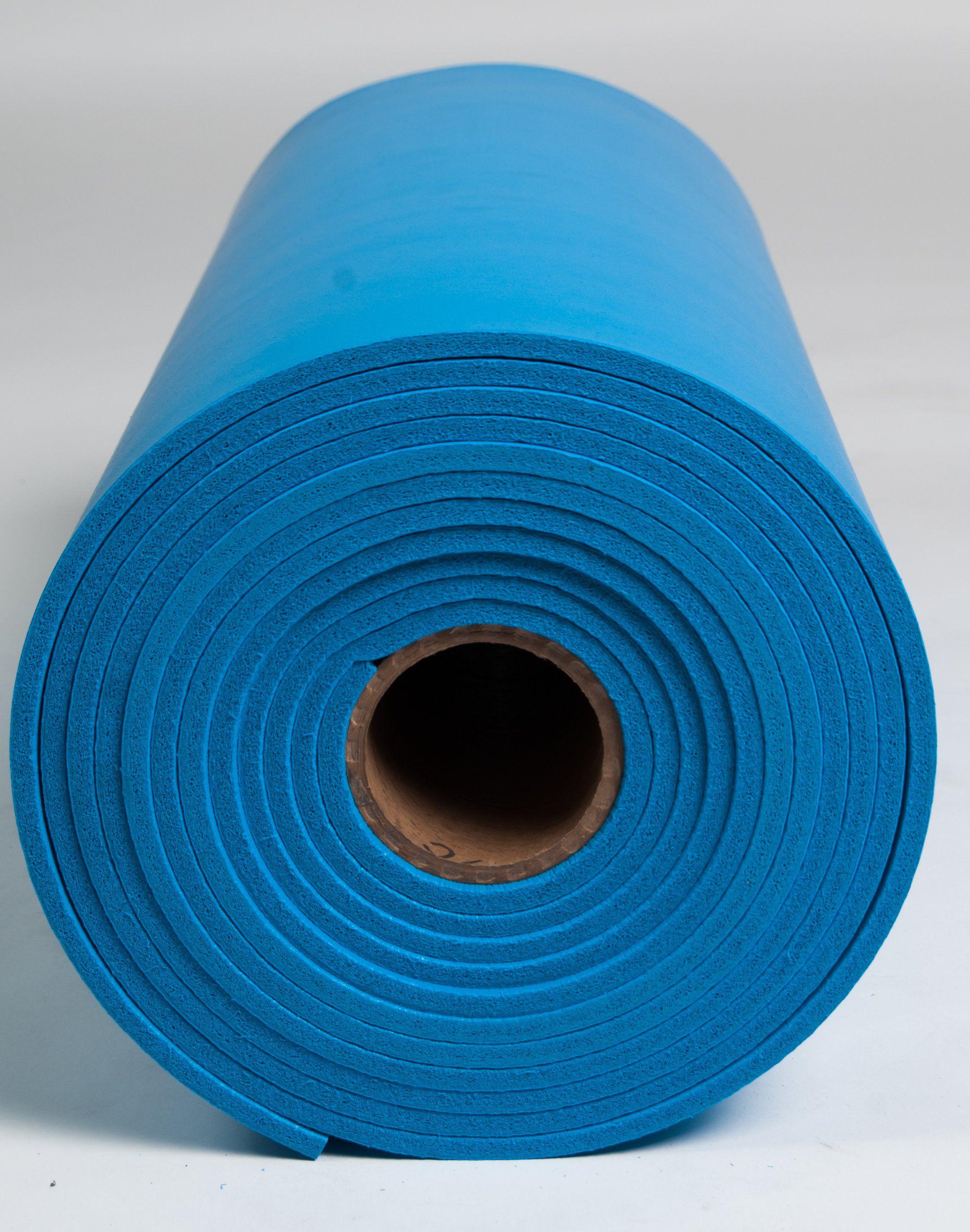 Esdproduct Pvc Foam Mat Roll 3 8 Thick 30 Length 2 1 2 Width Blue Foam Mats Foam Floor Mats