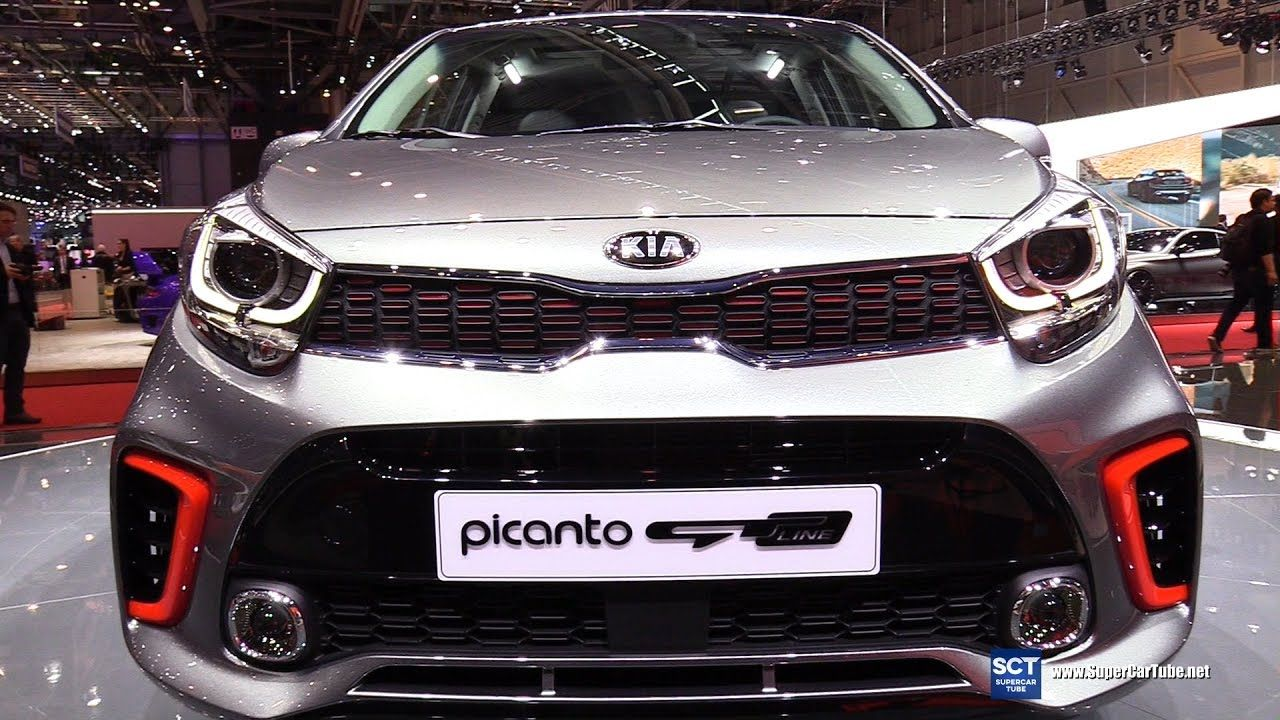 2018 kia picanto gt line exterior interior walkaround debut 2017 gen cars automotive. Black Bedroom Furniture Sets. Home Design Ideas