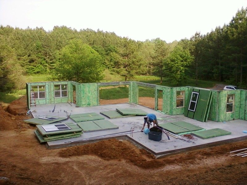 Kokoon homes sip 39 s high performance house kits sips for Sip built homes