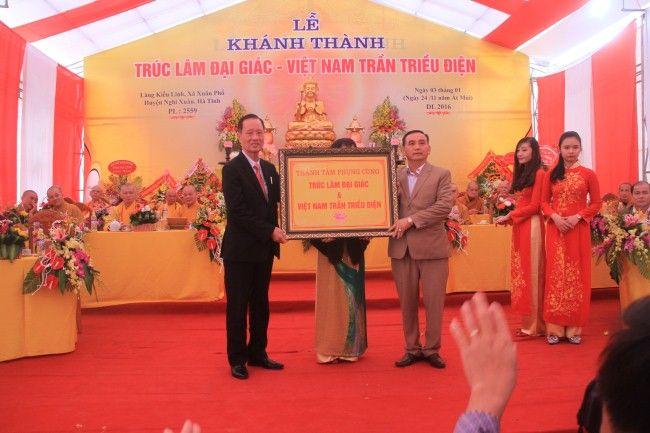 Thue nha bat Khánh thành Trúc Lâm đại giác - Việt Nam Trần triều điện