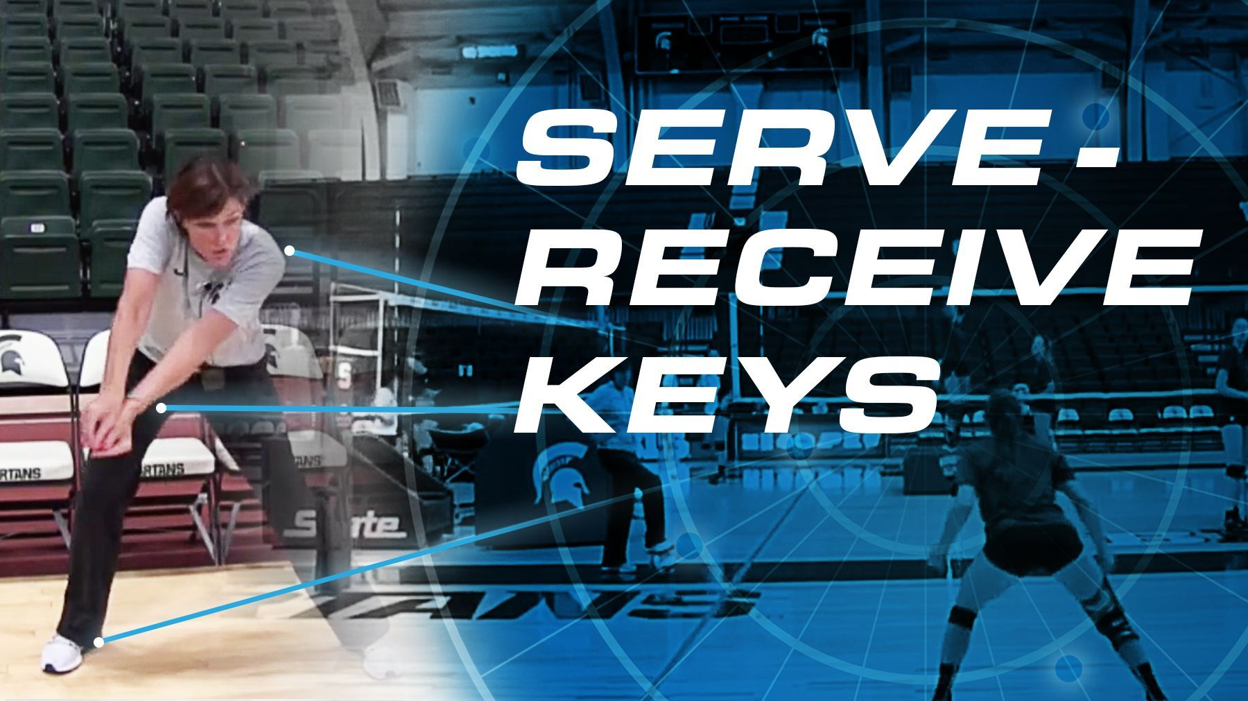 Cathy George Serve Receive Keys The Art Of Coaching Volleyball Coaching Volleyball Volleyball Drills For Beginners Volleyball Workouts