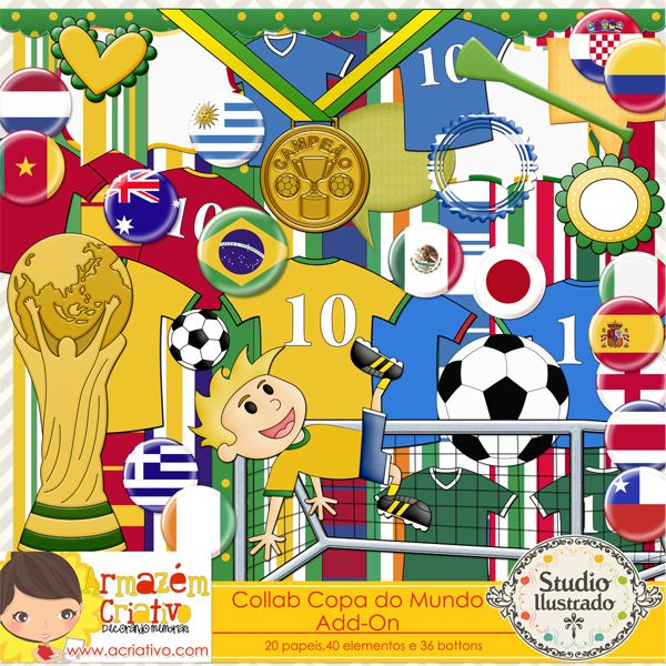 Collab World Cup Add-on with Armazém Criativo