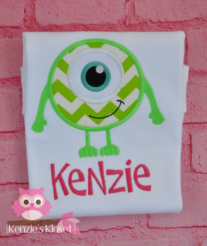 Monsters Inc  Monsters  University Inspired by KenziesKloset, $22.00