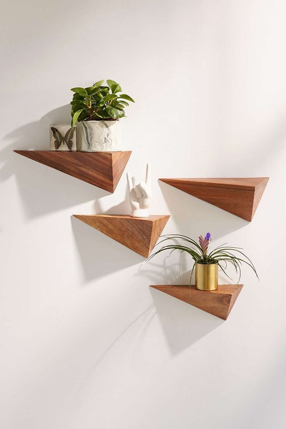 Geometric Wooden Wall Decor Home is everything!! in 2018