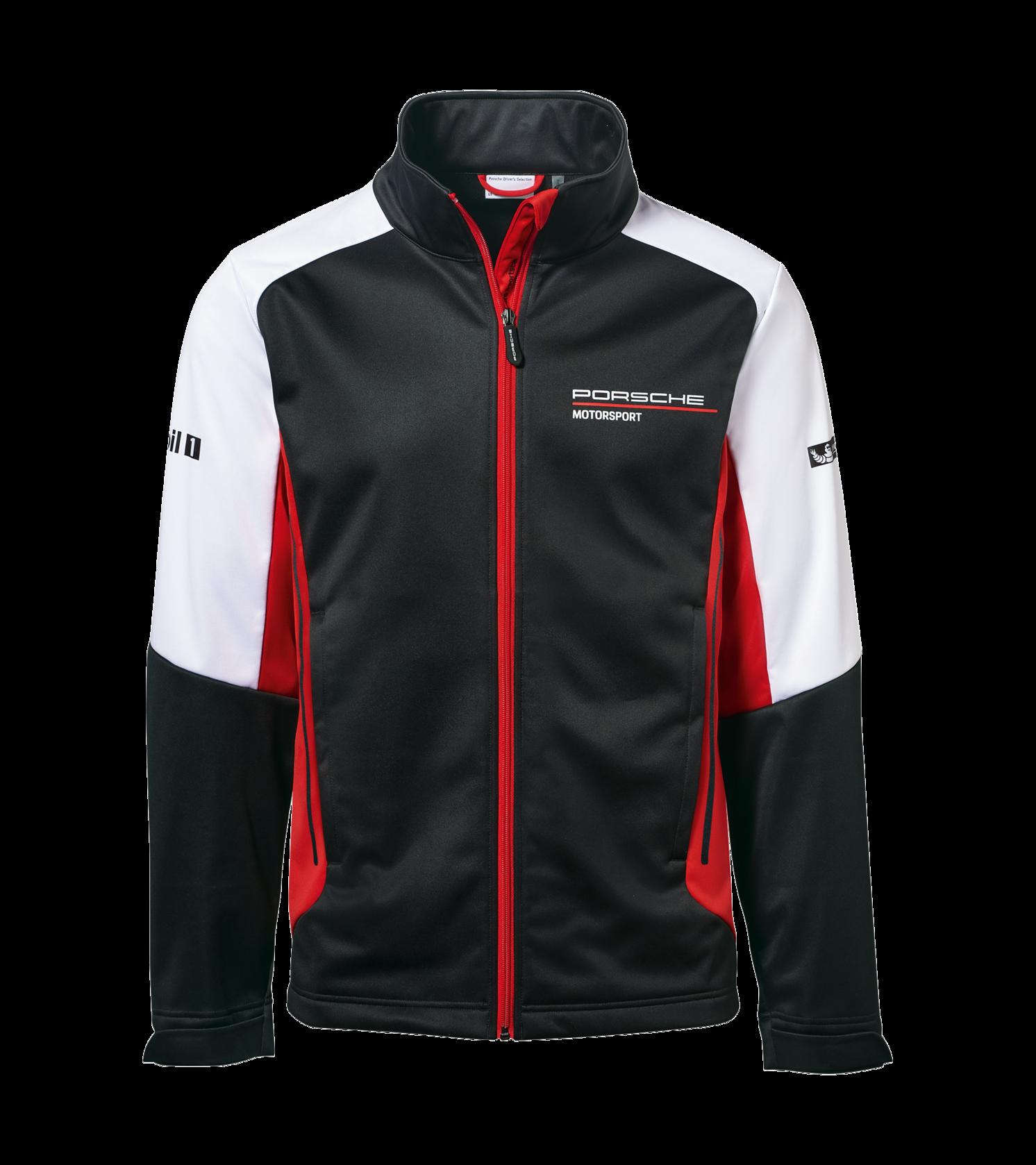Porsche Motorsport Team Veste softshell avec kit de sport automobile
