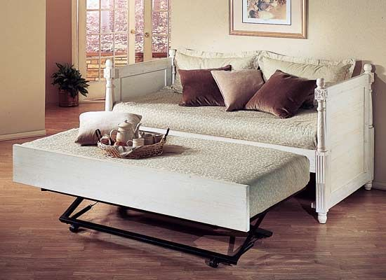 French Daybed With Trundle And Luxury Kid Furnishings Including Armoires In Childs Furniture
