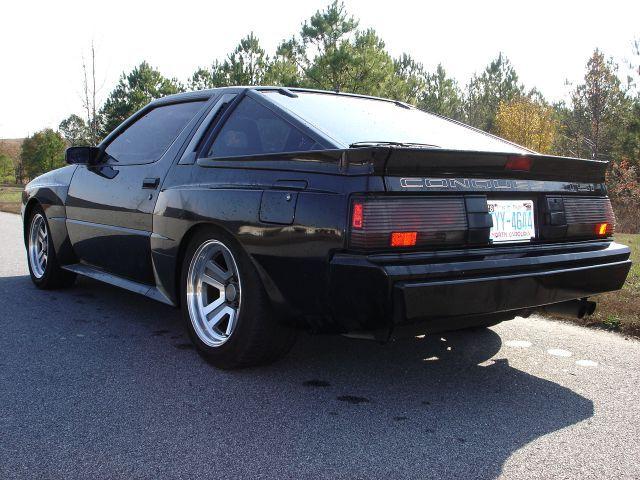 1988conquest 032 Jpg 1988 Tsi Black Gallery Chrysler