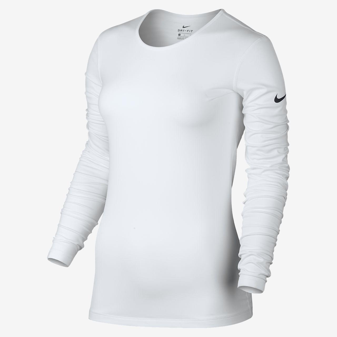 579e87cb Nike Pro Warm Women's Long Sleeve Training Top | Gifts | Nike women ...
