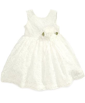Blueberi Boulevard Baby Girls' Lace Special Occasion Dress