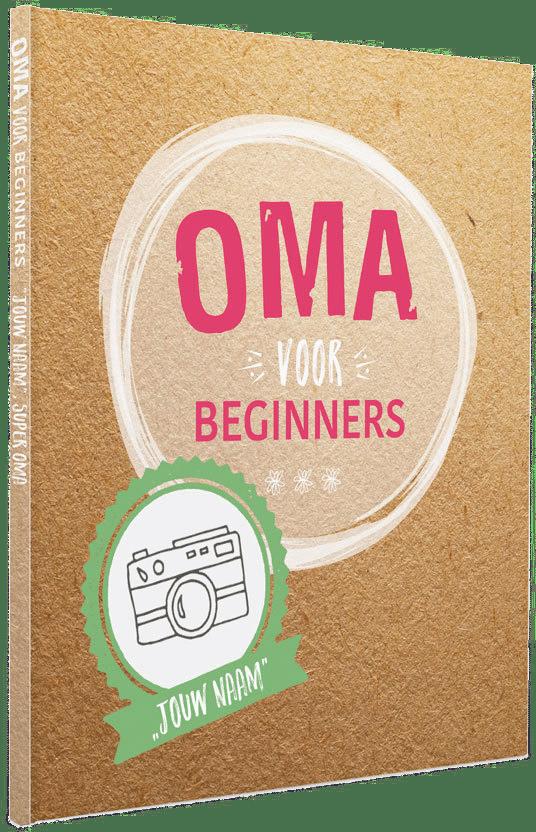 Oma Voor Beginners Boek Met Naam Voor Als Je Moeder Oma