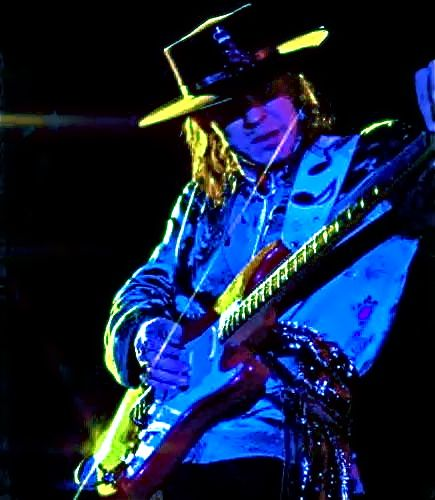 Stevie Ray Vaughan...another LEGEND who performed many times at Rockefeller Hall