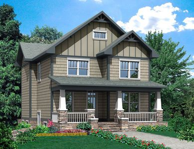 Craftsman House Plan with Special Ceilings for Every Bedroom