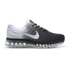 wholesale dealer 1ab3d ab752 Nike Air Max 2017 Black White Grey Men
