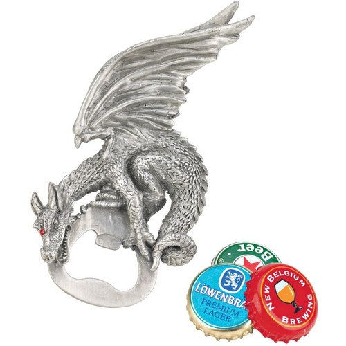 Design Toscano Grip The Dragon Gothic Bottle Opener