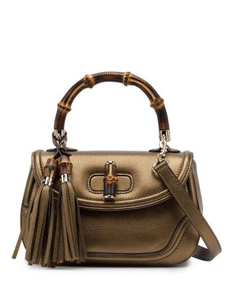 GUCCI Medium Bamboo Top Handle Bag