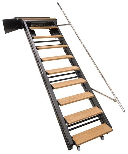 Escalera para barco abatible de embarque de alcance for Escaleras tipo barco