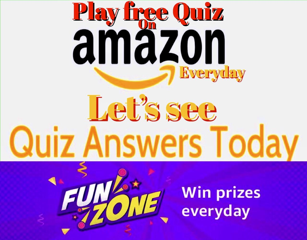 PLAY FREE AMAZON QUIZ. in 2020 Quiz, Free amazon