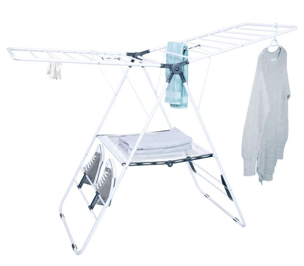 Tidy Living Deluxe Drying Rack Laundry Clothes Organization Compact Storage Drying Rack Laundry Laundry Clothes Hanger Laundry Clothes Organization