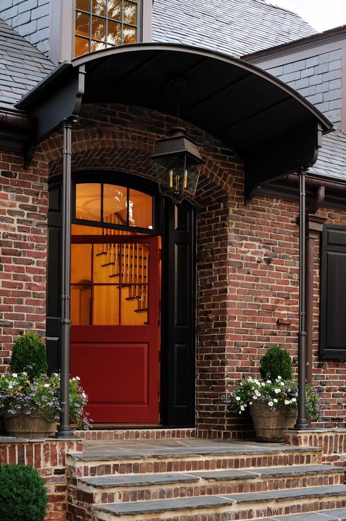 Exterior Entrance Of Intown Cottage Designed By Peter Block Mesmerizing Interior Design Firms In Atlanta Exterior