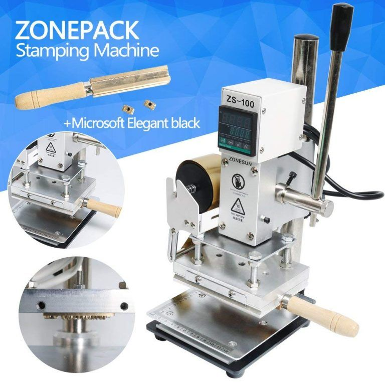 Pro Digital Hot Foil Stamping Machine Leather Craft Bronzing PVC Card Embossing