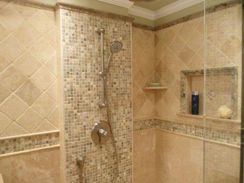 Travertine Bathroom, Travertine Tile Bathroom Shower