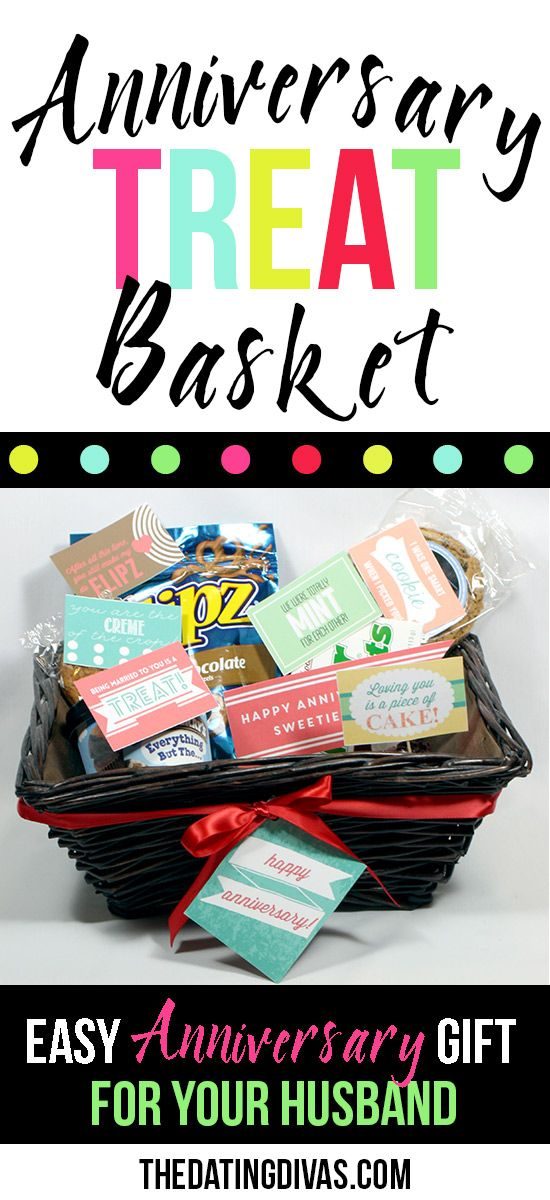 printable snack notes anniversary gift baskets anniversary