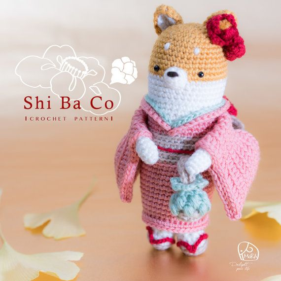 Crochet Doll Pattern_ShiBaCo doll / Version_Round & Spiral / MoRA ...