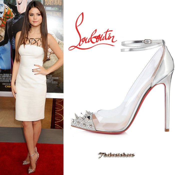 designer christian louboutin bmz7  Designer shoes 路 Selena Gomez in Christian Louboutin