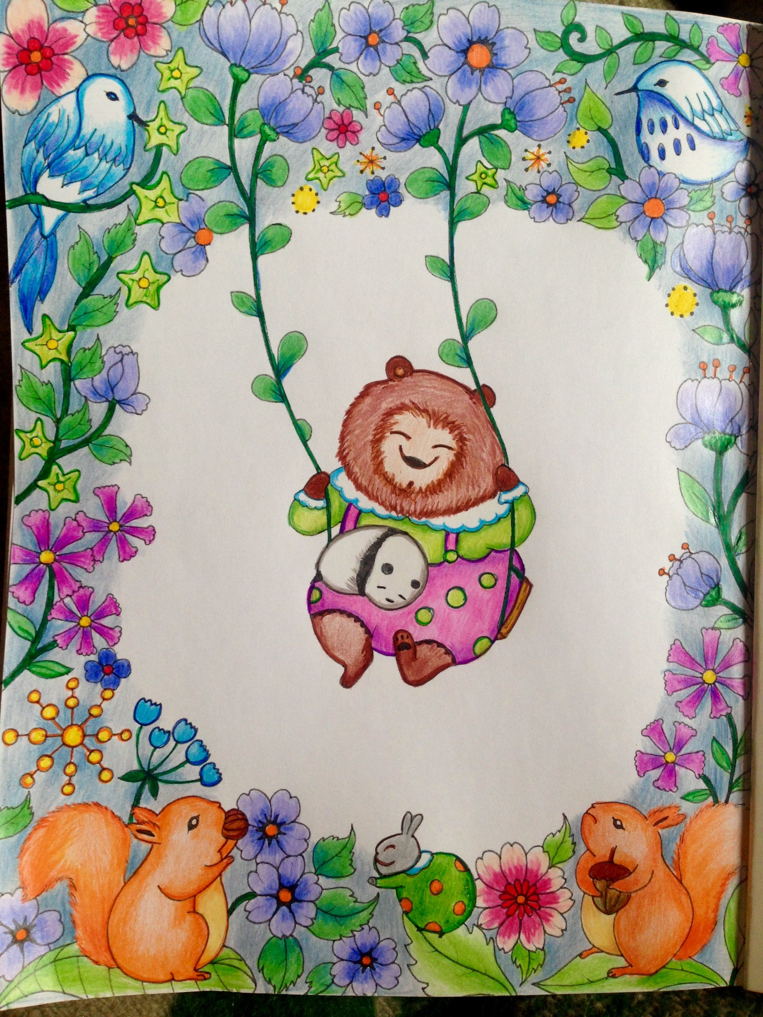 Coloring Book A Million Bears Lulu Mayo My Coloring Pages