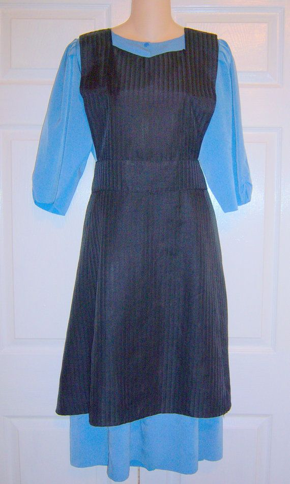 Mennonite Amish Handmade Blue Dress With By Mennoniteamishdress