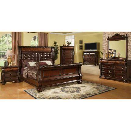Highland 6 Piece King Bedroom Set