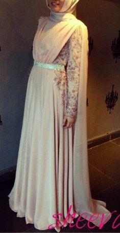 b6bd88ccae9 Hijab Wedding Engagement Dress . Can i design my dress like this ...