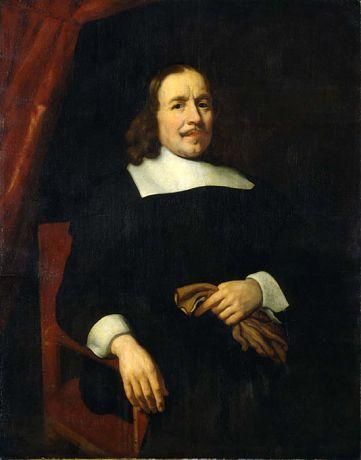Nicolaes Maes - Portret van een heer (1693)