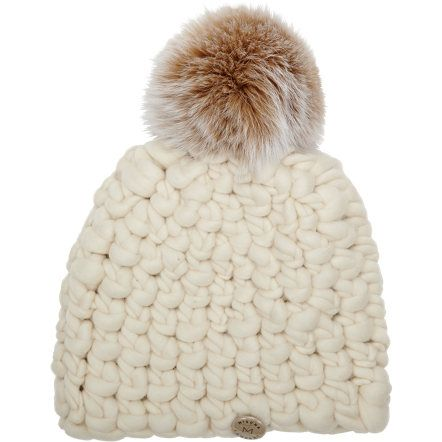 17205600cde Mischa Lampert Chunky-knit Beanie with Fur Pompom at Barneys.com ...