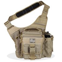 Jumbo EDC S-Type Concealed Carry Tactical Nylon Sling Shoulder Bag for Everyday Day Carry