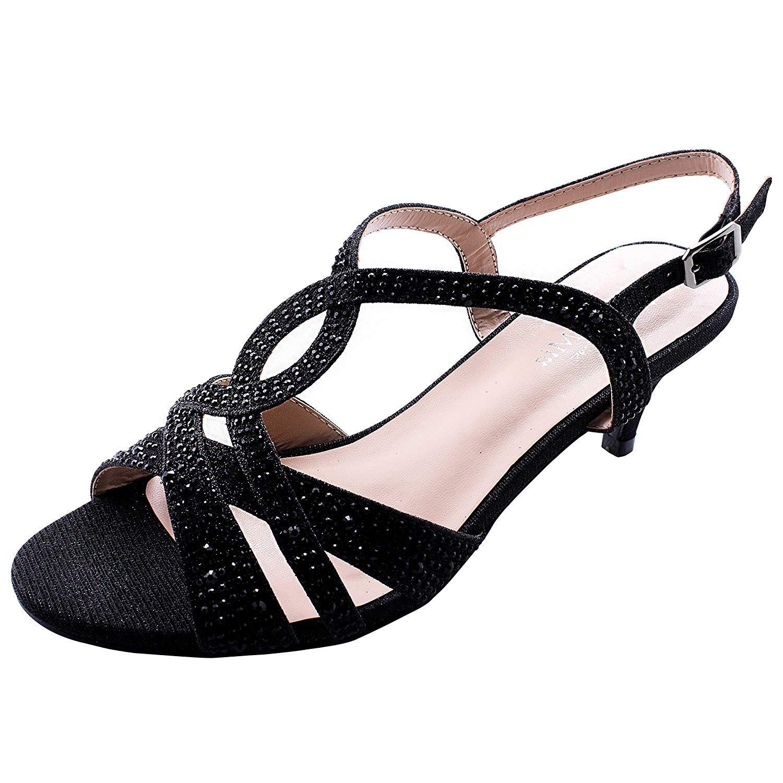 Low Heel Sandal Banana Republic Black Shoes Heels Black Shoes Low Heel Heels [ 2000 x 1500 Pixel ]
