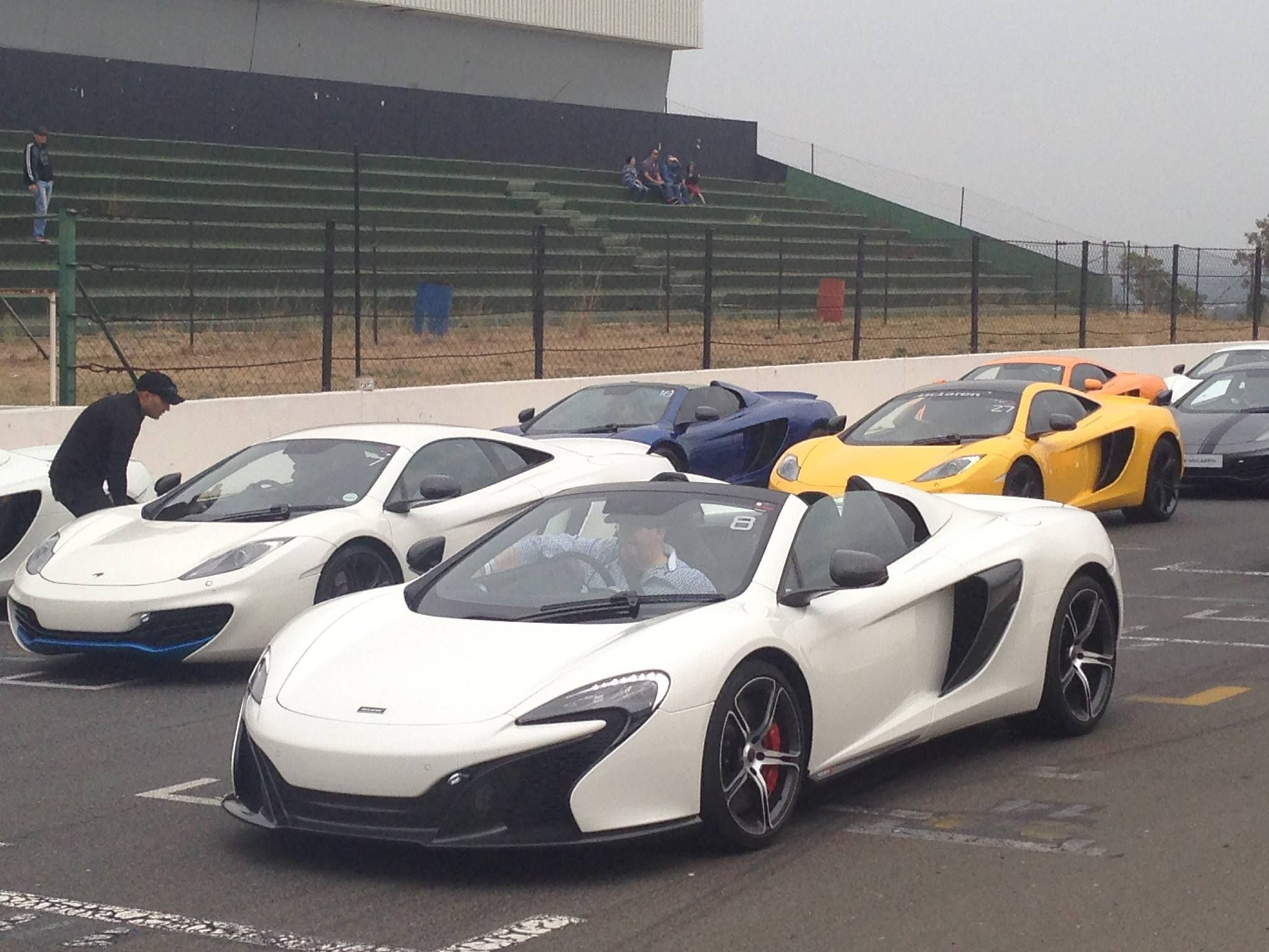 More from the Mclaren race day