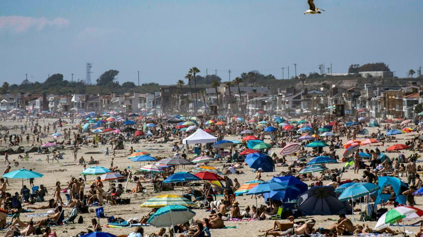How To Talk To People Who Aren T Social Distancing And Get Them To Listen News Break In 2020 Orange County Beaches Los Angeles Beaches Newport Beach Pier