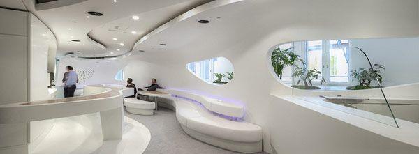 Zaha Hadid, Futuristic Interior, Luxury, Modern Interior ...