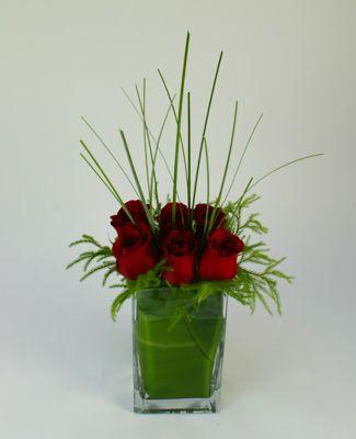 Contemporary Flower Arrangements | Contemporary Love Floral ...