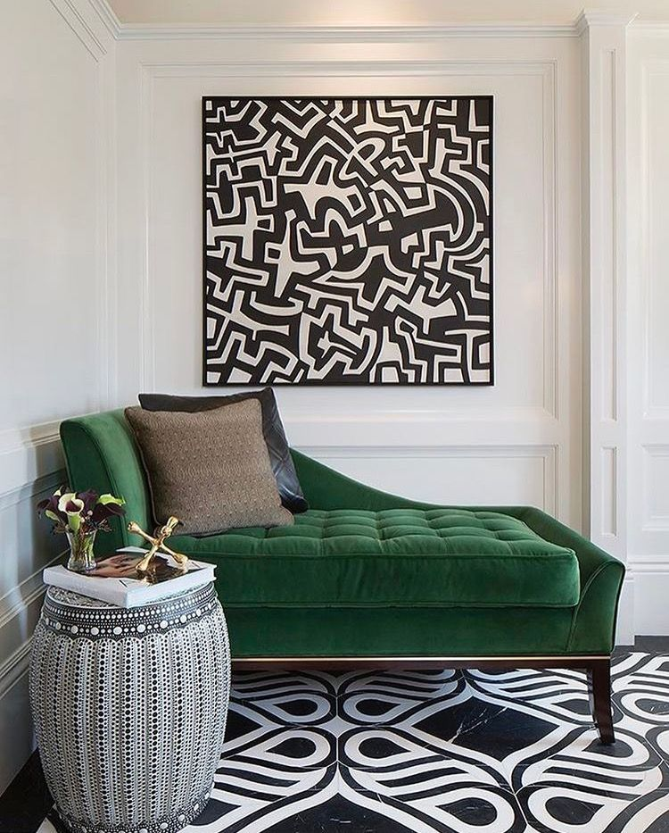 Room · Green velvet chaise lounge : green velvet chaise lounge - Sectionals, Sofas & Couches