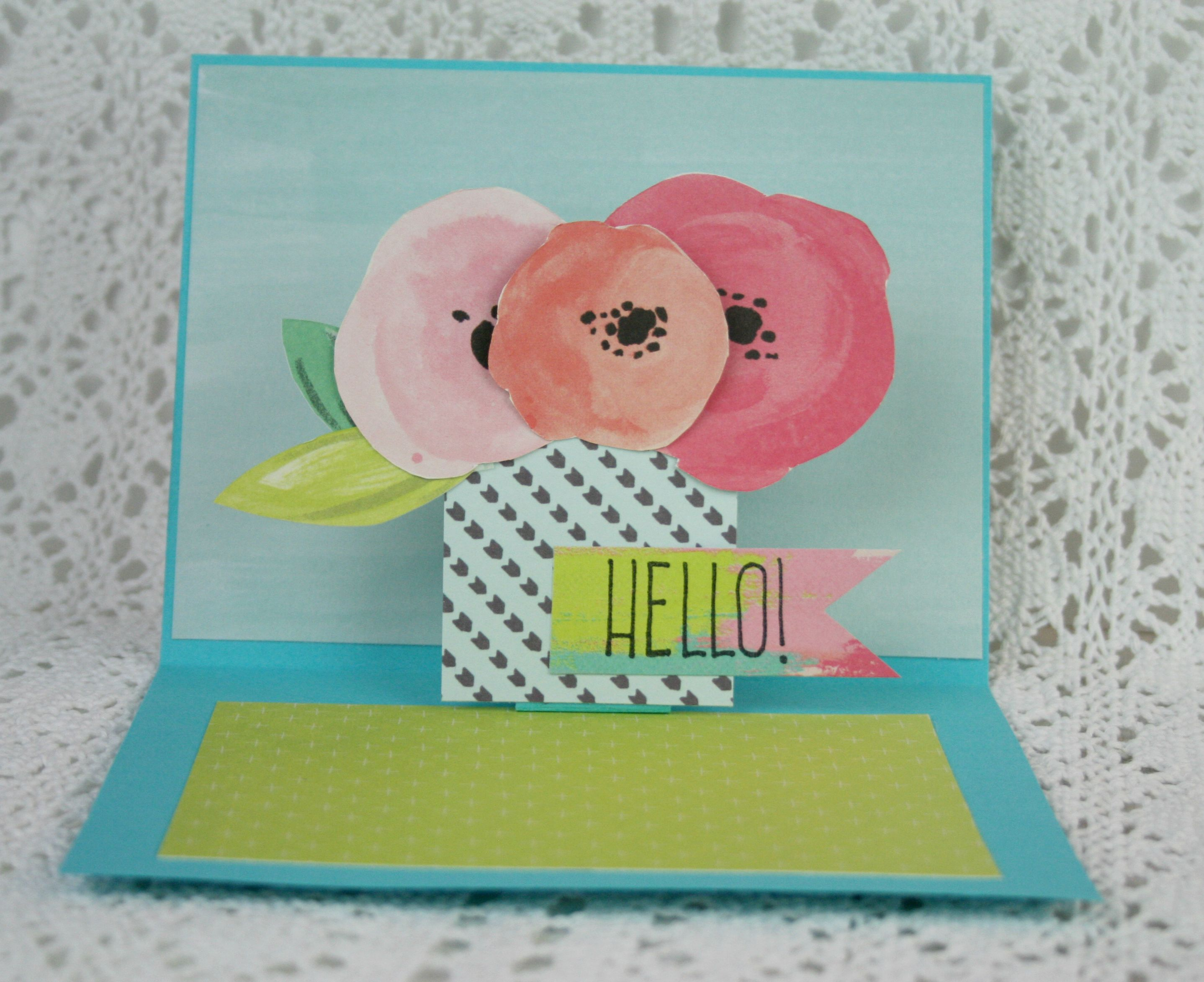 3d Card Making Ideas Part - 19: Learn How To Make A 3D Card And Get 23+ Card Making Ideas!