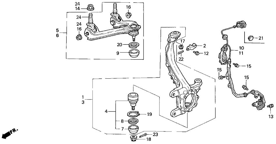 1999 Honda Accord Front End Diagram Product Wiring Diagrams U2022 Rh  Genesisventures Us 1992 Honda Accord Transmission Diagram Honda Accord  Transmission ...