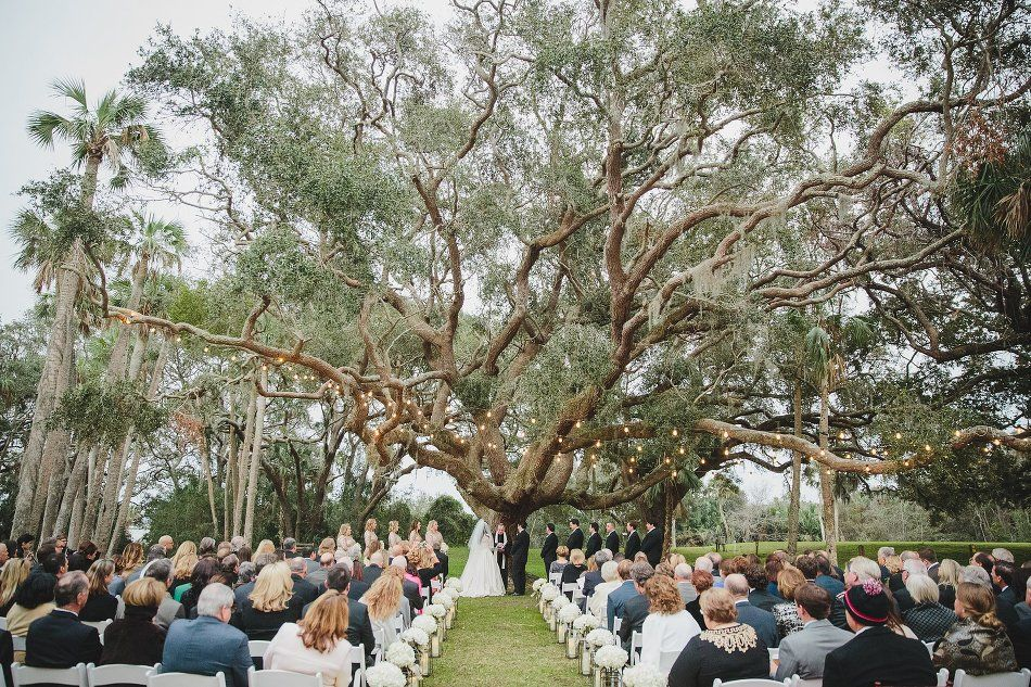 The Ribault Club Wedding Jacksonville Fl January Ceremony Tree Stephanie W Photogra Ribault Club Wedding Florida Wedding Venues Best Wedding Photographers