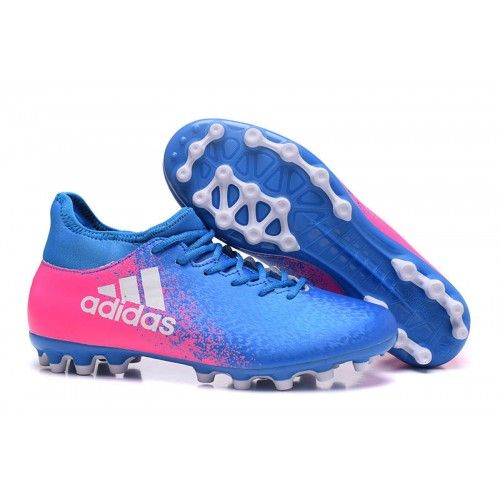 timeless design e237e 671a7 Adidas X 16.3 AG Football Boots Blue Pink White