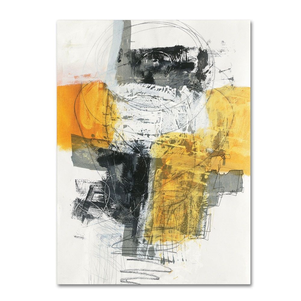 Jane Davies \'Action I\' Canvas Art - Free Shipping Today - Overstock ...